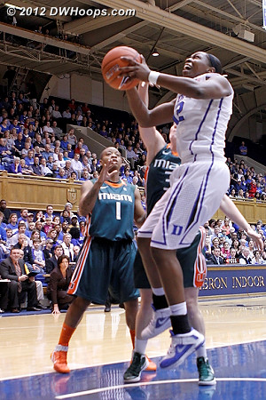 Hoop by Gray, 7-4 Canes  - Duke Tags: #12 Chelsea Gray