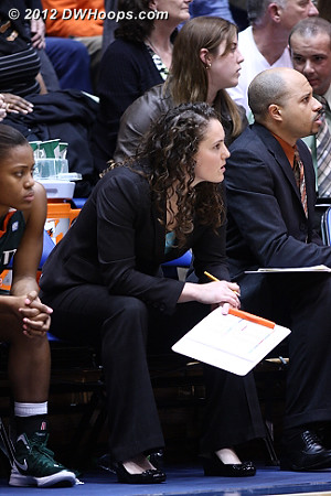 DWHoops Photo  - MIA Players: Assistant Coach Darrick Gibbs, Assistant Coach Carolyn Kieger