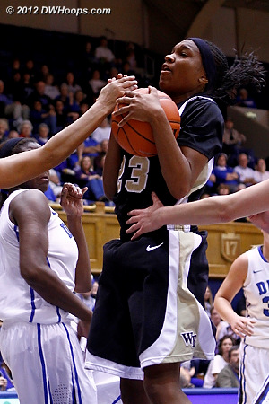 DWHoops Photo  - WAKE Players: #23 Secily Ray