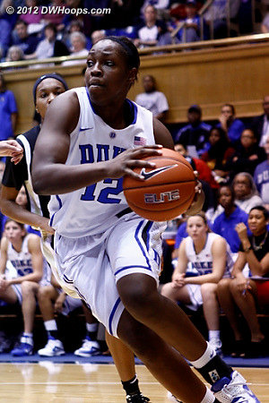 Chelsea Gray was one of four Blue Devils to score in double figures
