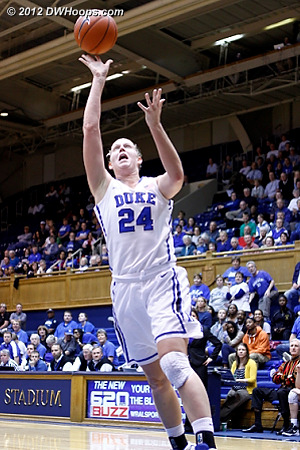 Scheer fast break layup puts Duke up by 28  - Duke Tags: #24 Kathleen Scheer