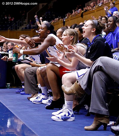 Bench applauds and calls for a Duke press