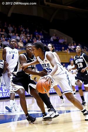 DWHoops Photo  - Duke Tags: #15 Richa Jackson - WAKE Players: #11 Patrice Johnson