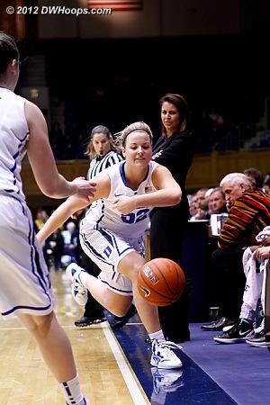 One last Duke turnover  - Duke Tags: #32 Tricia Liston
