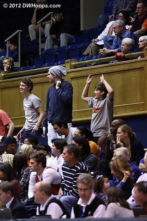 UVa fans  - Duke Tags: Fans