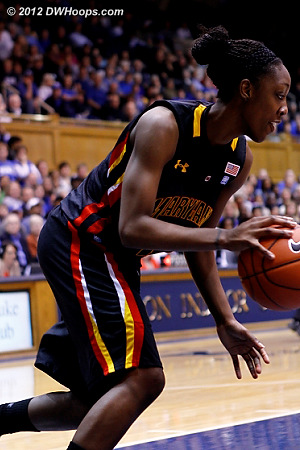 Maryland's Laurin Mincy