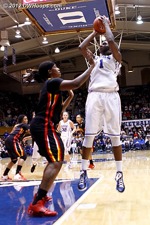 Williams gives Duke its first five point lead, 35-30  - Duke Tags: #1 Elizabeth Williams