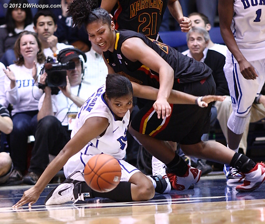 Richa Jackson and Alyssa Thomas strive for the ball in the waning minutes