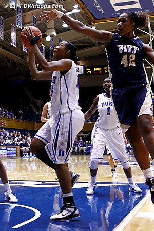 Richa scores to put Duke up by 20  - Duke Tags: #15 Richa Jackson
