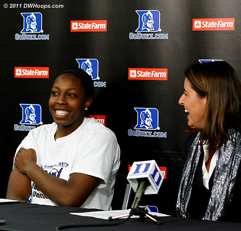 Talking with Rob about Chelsea's triple-double, only the fourth in Duke WBB history