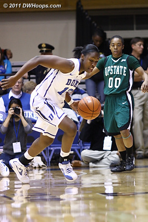 Chelsea Gray gets a steal  - Duke Tags: #12 Chelsea Gray