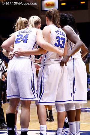 Duke huddle