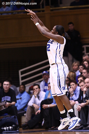 Nothing but net for Gray, Duke's lead balloons to 24  - Duke Tags: #12 Chelsea Gray