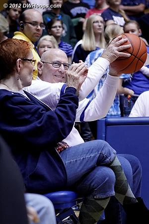 Nice catch!  - Duke Tags: Fans
