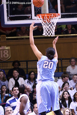 Shegog breaks the second half ice for UNC  - UNC Players: #20 Chay Shegog