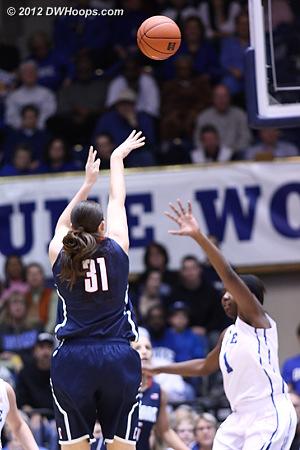 4-2 UConn with this Dolson jumper  - CONN Players: #31 Stefanie Dolson