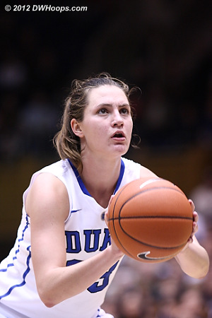 Haley made both free throws and Duke trailed 45-33 with 8:55 left.