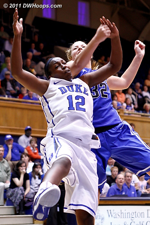 DWHoops Photo  - Duke Tags: #32 Tricia Liston, #12 Chelsea Gray