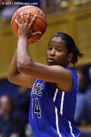 Ka'lia Johnson  - Duke Tags: #14 Ka'lia Johnson