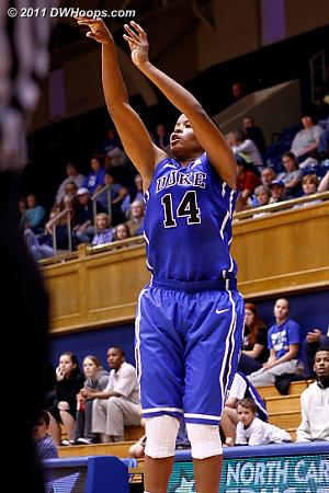 A good look for Johnson  - Duke Tags: #14 Ka'lia Johnson