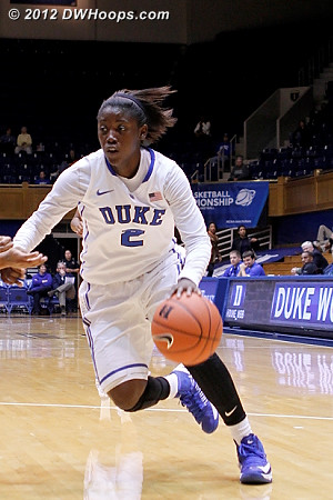 Alexis Jones puts it on the floor  - Duke Tags: #2 Alexis Jones