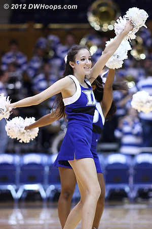 DWHoops Photo  - Duke Tags: Duke Cheerleaders