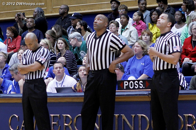 2 out of 3 refs agree, the pregame video is fascinating!