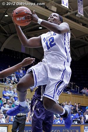 Chelsea attacks the basket