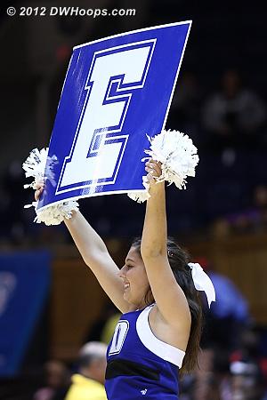 E!  - Duke Tags: Duke Cheerleaders