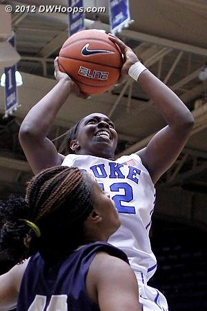 Gray elevates again  - Duke Tags: #12 Chelsea Gray