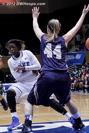 Another nasty Jones no-look pass  - Duke Tags: #2 Alexis Jones