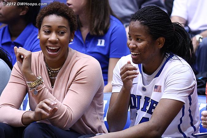 DWHoops Photo  - Duke Tags: #14 Ka'lia Johnson, Joy Cheek