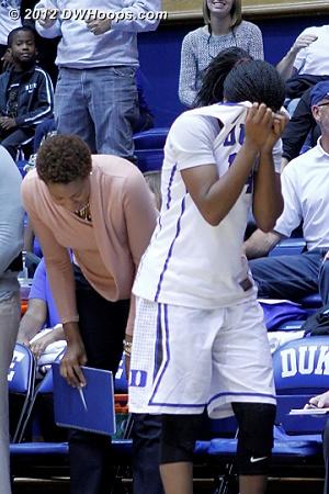 Wanted that Frush shot to fall SO BAD  - Duke Tags: #14 Ka'lia Johnson