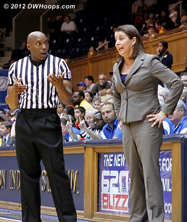 Coach P not satisfied with Kevin Dillard's explanation  - Duke Tags: Joanne P. McCallie