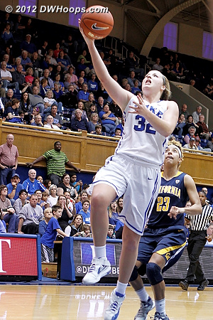 Liston finished with a Duke team high 22 points  - Duke Tags: #32 Tricia Liston