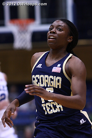 Tyaunna Marshall, Georgia Tech
