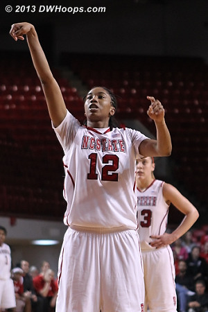 ACCWBBDigest Photo  - NCSU Players: #12 Krystal Barrett