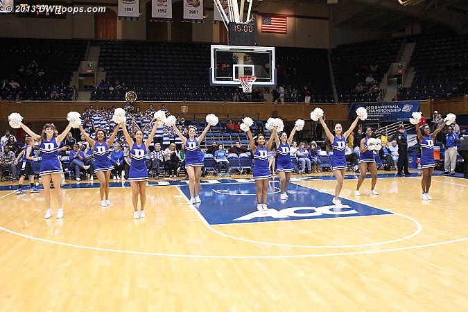 Halftime, Duke leads 34-26  More photos to come...  - Duke Tags: Duke Cheerleaders