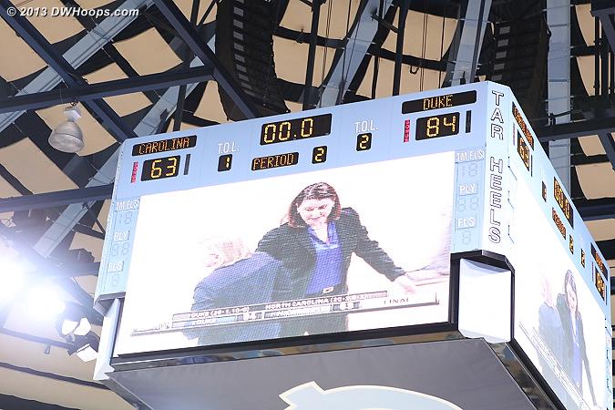 Ballgame - Duke 84, UNC 63