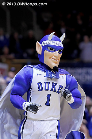 ACCWBBDigest Photo  - Duke Tags: Duke Blue Devil Mascot