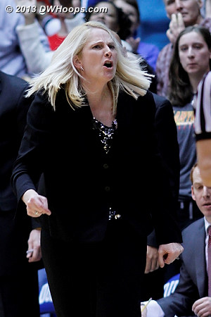 Maryland coach Brenda Frese was unhappy with Chelsea Gray cutting off Alyssa Thomas in transition, and her persistent reaction resulted in technical fouls from two different referees and ejection.  - MD Players: Head Coach Brenda Frese