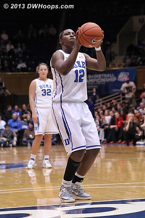 With Maryland cold, more Gray free throws put Duke up by 15  - Duke Tags: #12 Chelsea Gray