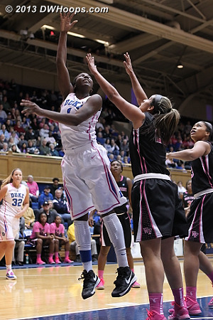 Finally a hoop for Williams, 18-11 Deacs  - Duke Tags: #1 Elizabeth Williams