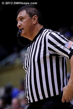 Referee Bryan Enterline