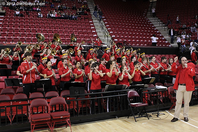 Maryland band sounded great today!  - MD Players:  Maryland Band