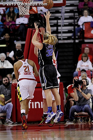 Liston was 4-7, 3-3 from distance, 15 points  - Duke Tags: #32 Tricia Liston