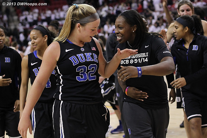 DWHoops Photo  - Duke Tags: #12 Chelsea Gray, #32 Tricia Liston