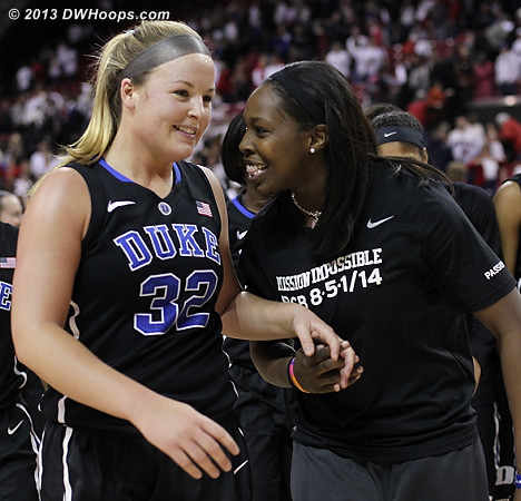 Duke proved it could beat a top ten team without Chelsea Gray  - Duke Tags: #12 Chelsea Gray, #32 Tricia Liston