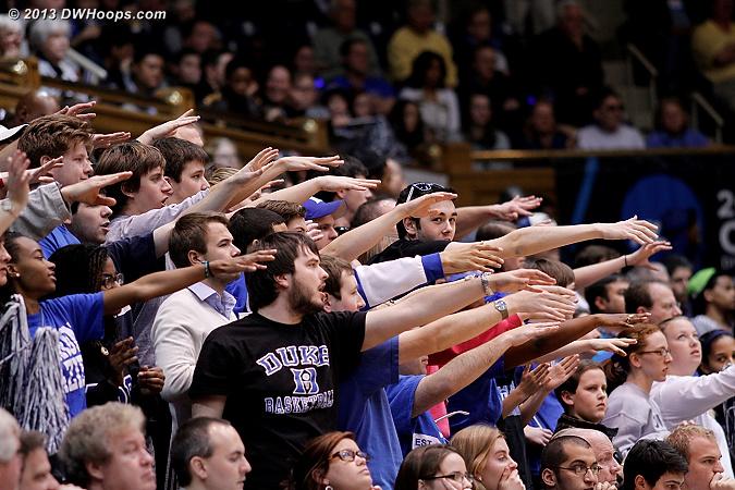 Duke fans wish Rolle a fond farewell  - Duke Tags: Fans