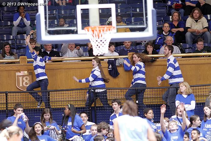 Free throw antics  - Duke Tags: Duke Pep Band